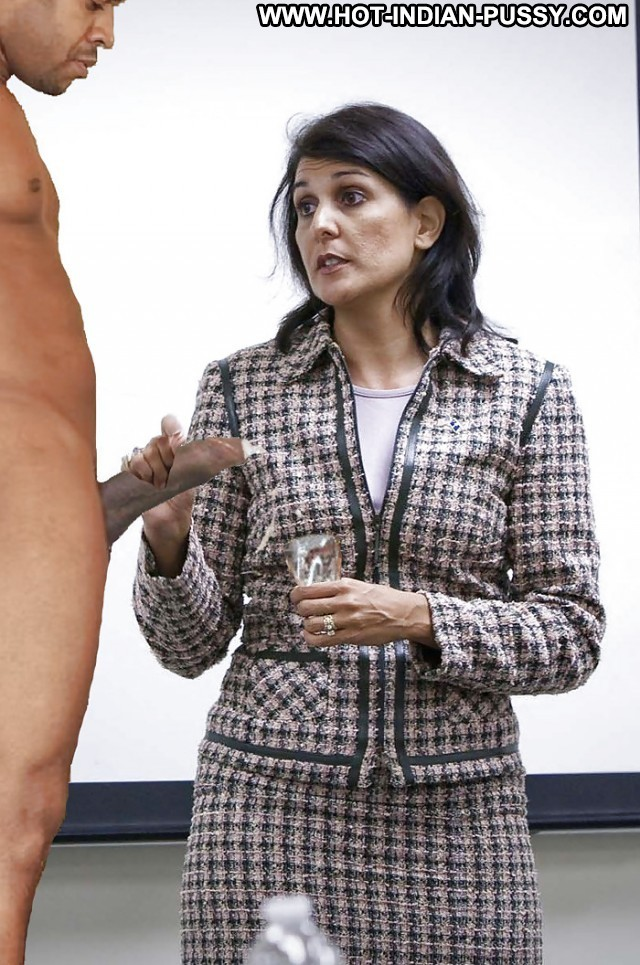Nikki Haley Private Pictures Indian Milf Hot Funny Celebrity Stunning