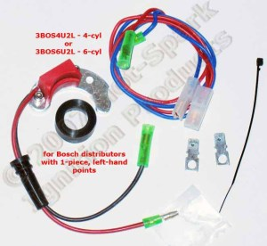 Electronic Ignition Conversion Kits for VW, Volkswagen