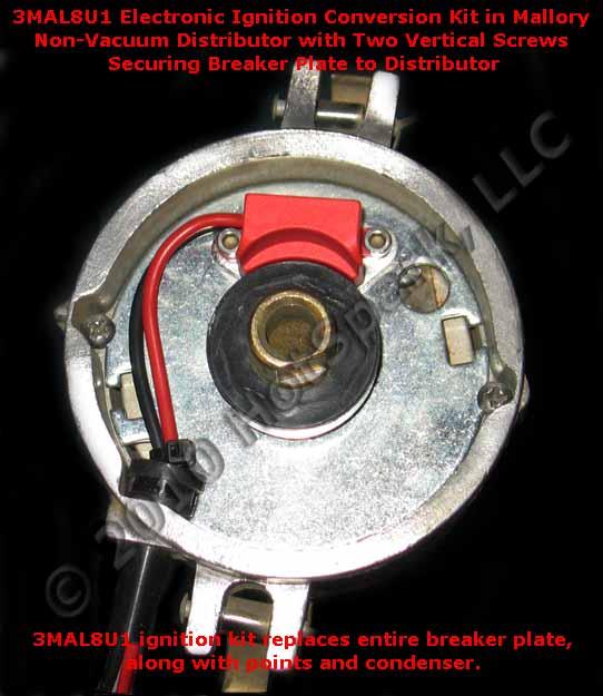mallory electronic ignition conversion kit  hotspark