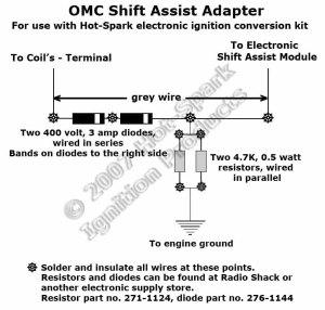 Electronic Ignition Conversion Kit: Teledyne Marine 8Cyl