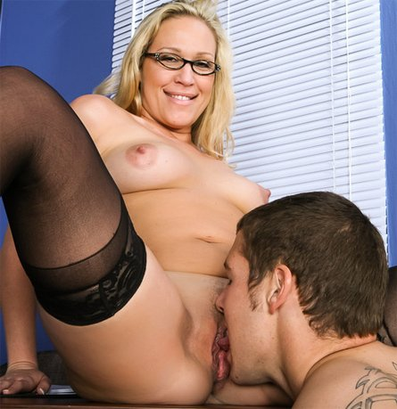 Eating Pussy If You Have Ever Been A Student And Has A Really Hot Looking Teacher That You Wanted To Fuck Then This Scene From My First Sex Teacher Will