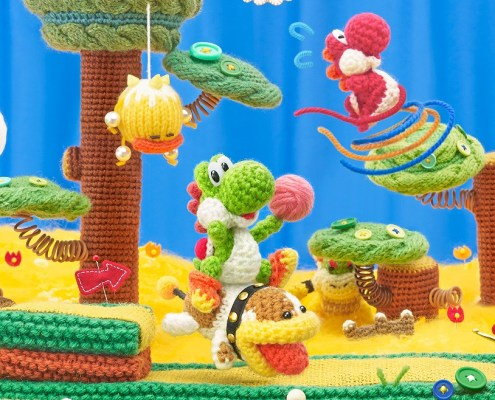 Yoshi's Woolly World - So Many Patterns Trailer