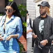 Kylie Jenner and PARTYNEXTDOOR Spotted 'Making Out' at Drake's Party