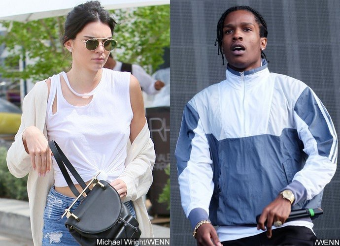 Kendall Jenner Spotted on Dinner Date With A$AP Rocky in L.A.