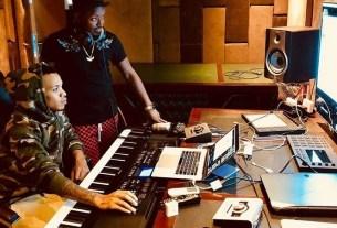 Ykee Benda in Studio with Nigeria's Tekno
