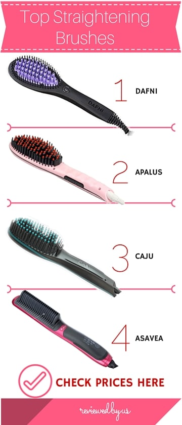 Top 10 Best Hair Straightening Brushes 2018 Get Silky