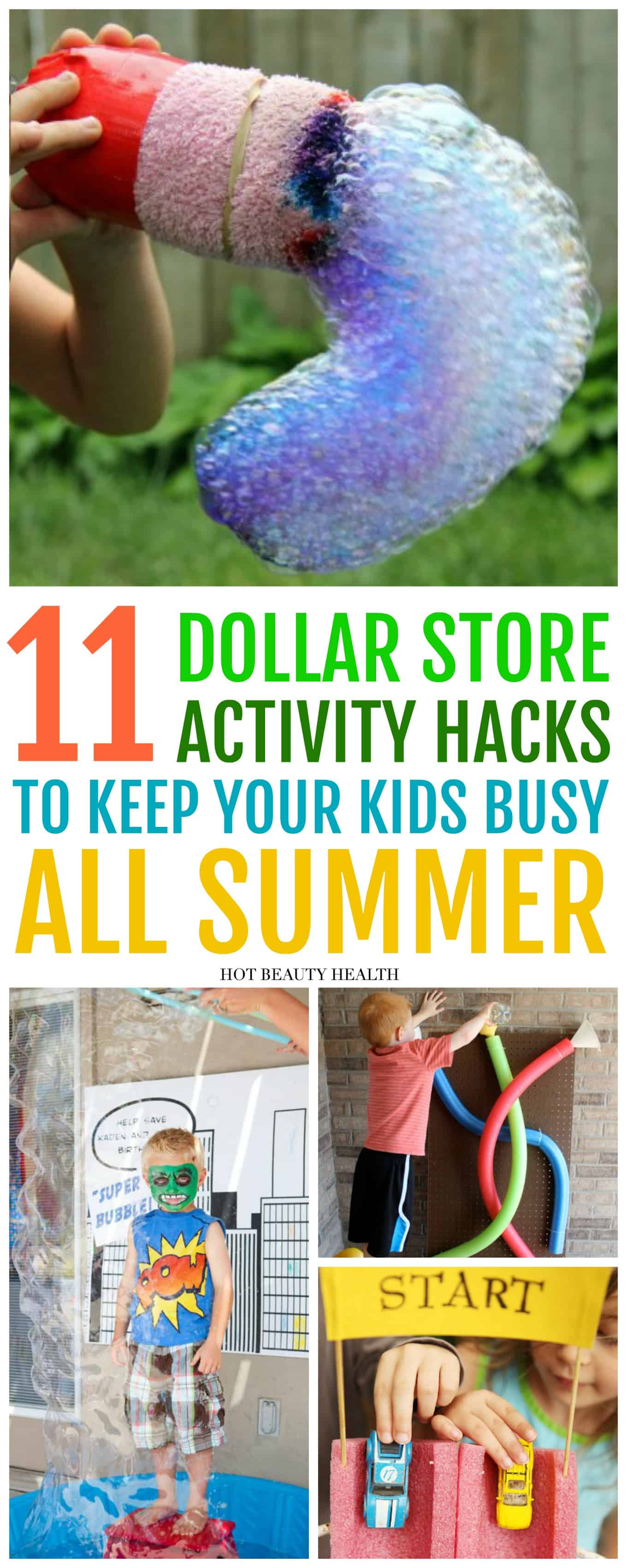 11 Fun Activities To Diy This Summer From The Dollar Store