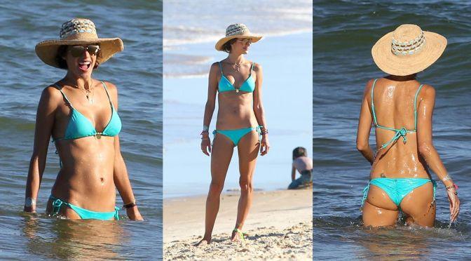 Alessandra Ambrosio – Bikini Candids in Bahia