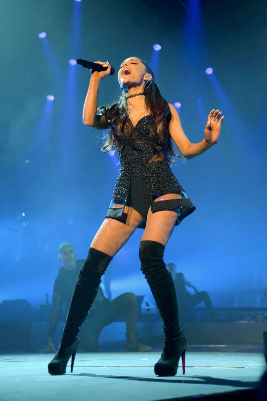 Ariana Grande Performs Live in Kansas City