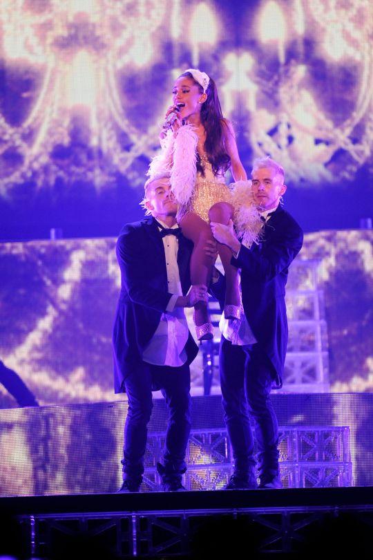 Ariana Grande Performs Live in Kansas City