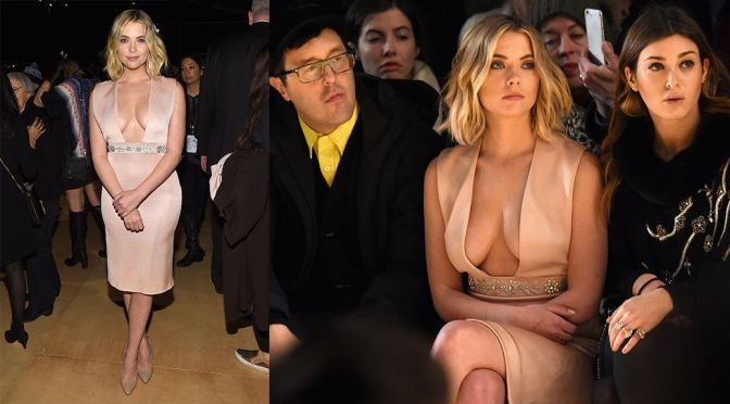 "Ashley Benson – ""Reem Acra"" Fashion Show in New York"