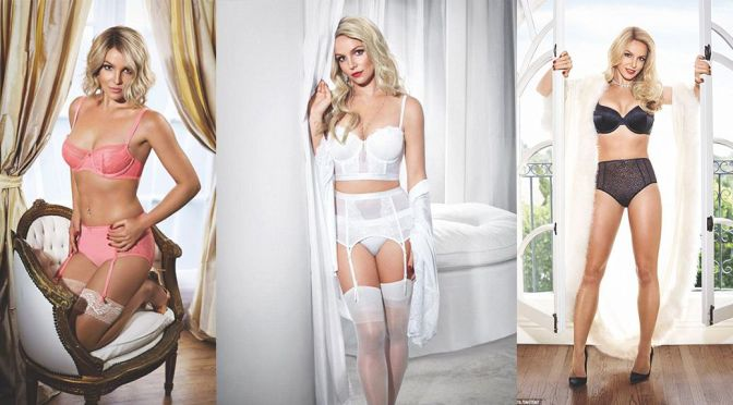 """Britney Spears – """"Intimate"""" Lingerie SS15 Collection"""