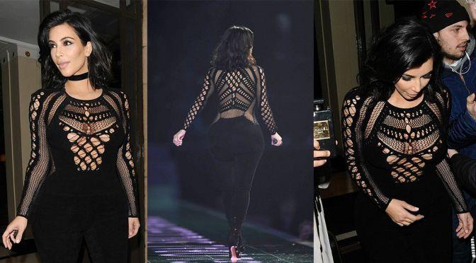 Kim Kardashian - BRIT Awards in London