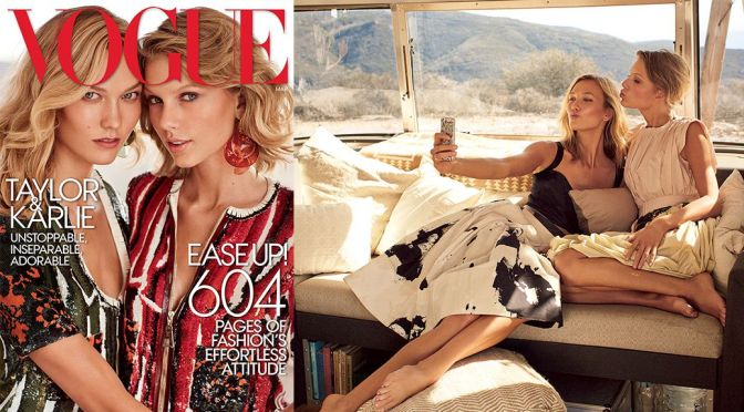 Taylor Swift & Karlie Kloss – Vogue Magazine (March 2015)