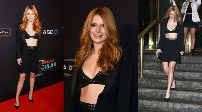 Bella Thorne - 2015 New York Spring Spectacular