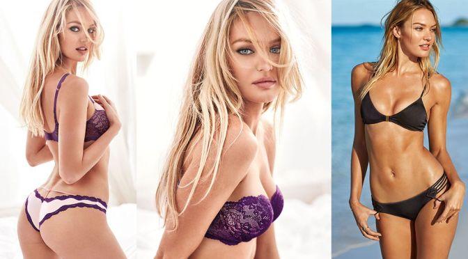 Candice Swanepoel - Victoria's Secret Bikini & Lingerie Photoshoot