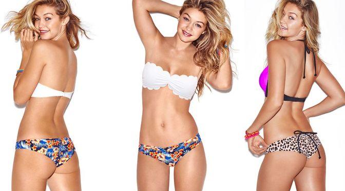 Gigi Hadid – Victoria's Secret Bikini Photoshoot