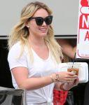 Hilary Duff - Candids in Studio City