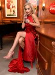 Rita Ora – Coca Cola Contour Centenary Bar in London