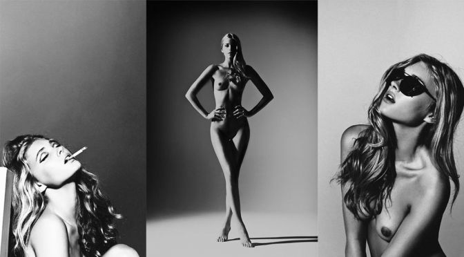 Elsa Hosk – Mirage Magazine Topless Photoshoot (NSFW)