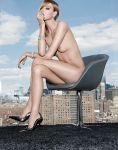 Martha Hunt - Elle Mexico Magazine Topless Photoshoot (NSFW)