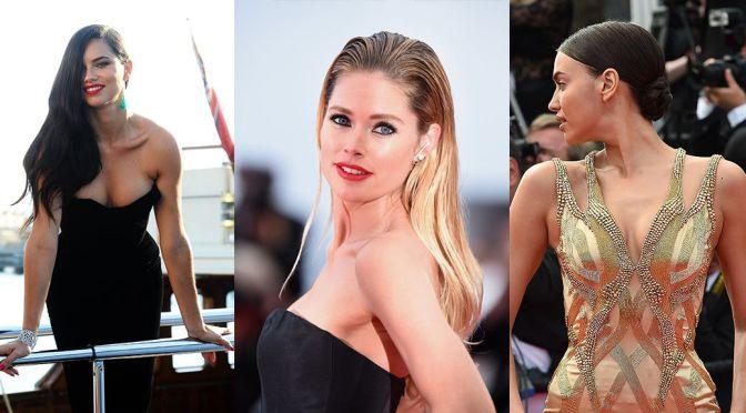 """Adriana Lima, Doutzen Kroes & Irina Shayk – """"Sicario"""" Premiere in Cannes"""
