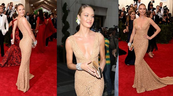 Candice Swanepoel – China Through The Looking Glass Costume Institute Gala