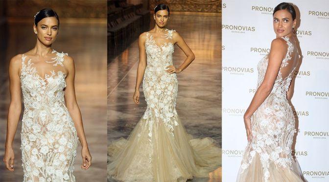 "Irina Shayk – ""Pronovias"" Fashion Show in Barcelona"