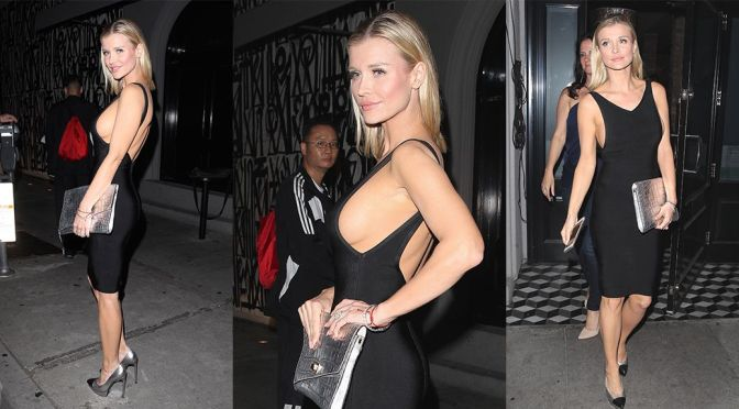 Joanna Krupa – Braless Candids in West Hollywood
