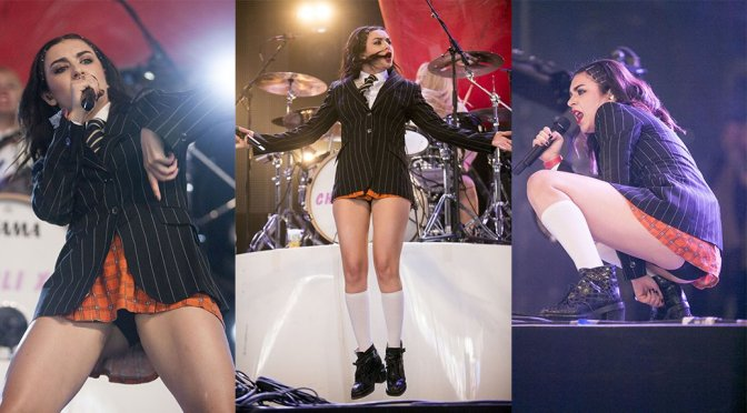 Charli XCX – Glastonbury Festival 2015 in England