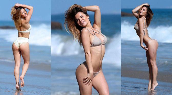 """Kaili Thorne – """"138 Water"""" Bikini Photoshoot in Malibu"""
