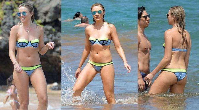 Katrina Bowden – Bikini Candids in Hawaii