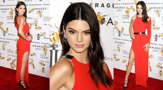 Kendall Jenner – 2015 Fragrance Foundation Awards