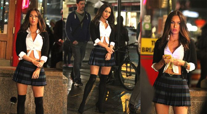 "Megan Fox – ""Teenage Mutant Ninja Turtles 2"" Movie Set in New York"