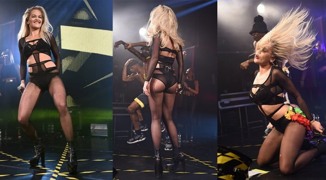 Rita Ora Performs at Heaven Nightclub in London
