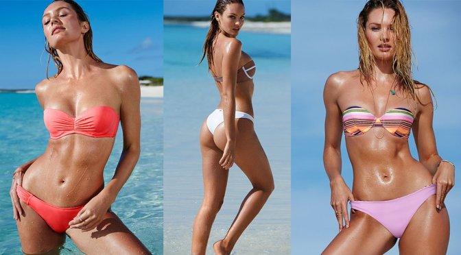 Candice Swanepoel – Victoria's Secret Bikini Photoshoot