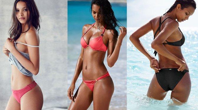 Lais Ribeiro – Victoria's Secret Bikini & Lingerie Photoshoot