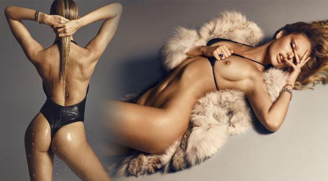 Candice Swanepoel – Lui Magazine Topless Photoshoot (September 2015) (NSFW)