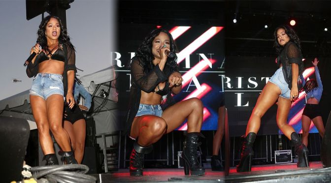Christina Milian – Billboard Hot 100 Music Festival in Jones Beach