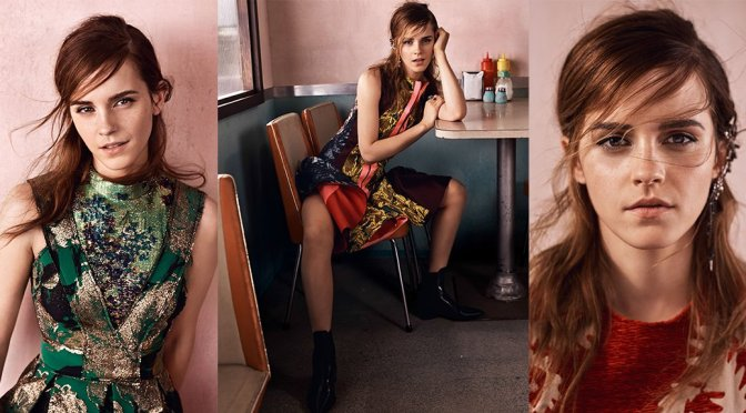 Emma Watson – Vogue UK Magazine (September 2015)