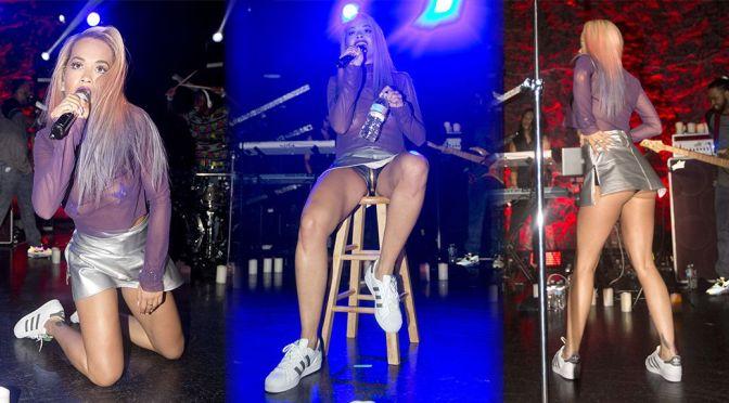 Rita Ora Performs Live in Los Angeles