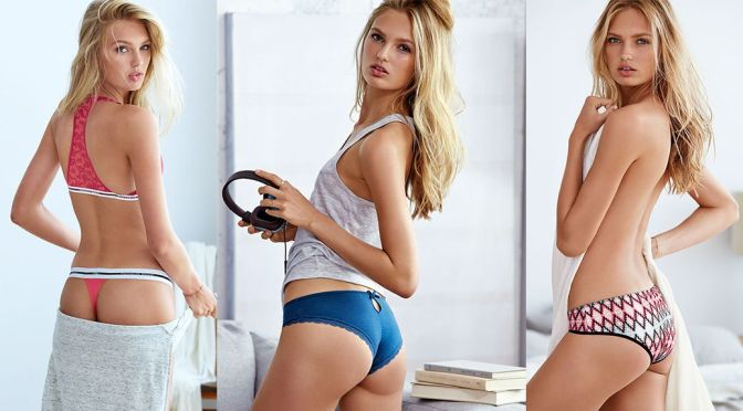 Romee Strijd – Victoria's Secret Lingerie Photoshoot