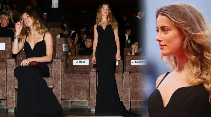 "Amber Heard - ""Black Mass"" Premiere in Venice"