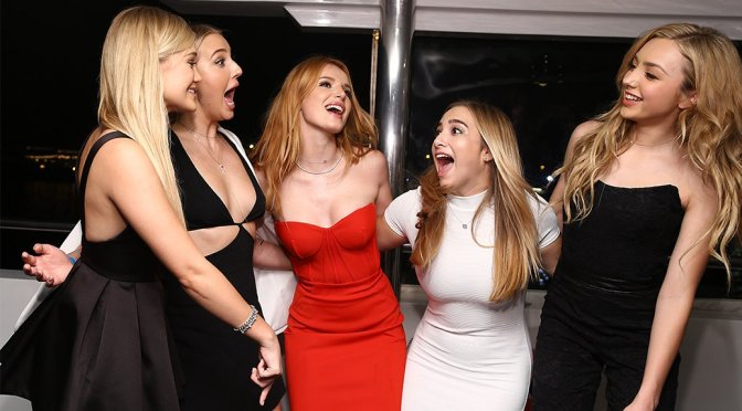 Bella Thorne – 18th Birthday Party in Los Angeles