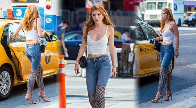 Bella Thorne – Candids in New York
