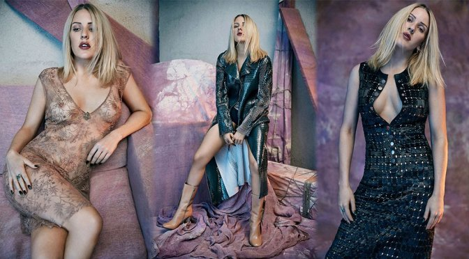 Ellie Goulding – Rollacoaster Magazine See-Through Photoshoot (Issue #17)