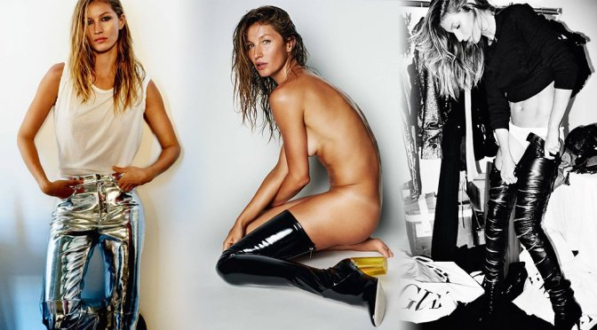 Gisele Bundchen – Vogue Magazine Photoshoot (October 2015)