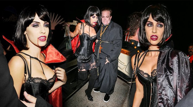 Jessica Lowndes – Casa Tequila Halloween Party