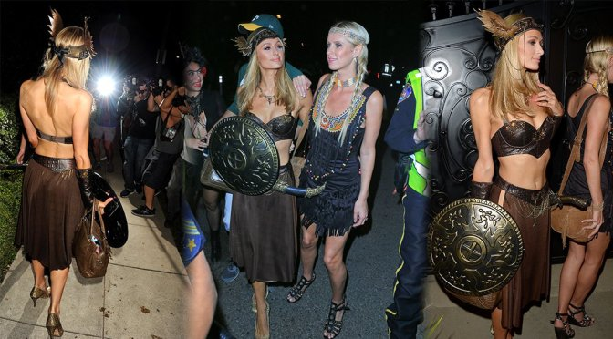 Paris Hilton – Casamigos Halloween Party