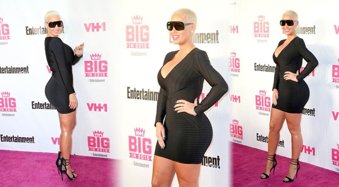 Amber Rose – VH1 Big In 2015 With Entertainment Weekly Awards